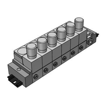 SMC 小型集装式减压阀,单体式,集中供气型,ARM11AB1-612-N