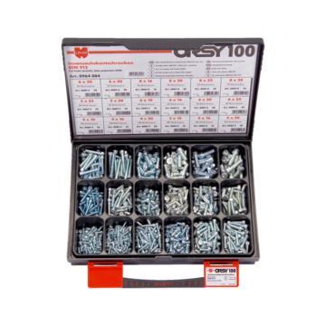伍尔特WURTH,0964084,螺钉组套-DIN912-8.8-(A2K)-1040PCS