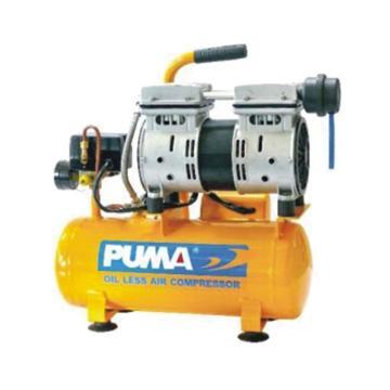 巨霸PUMA 无油静音直接式空压机,WE076