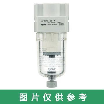 SMC 微雾分离器,过滤精度0.01μm,最大流量240L/min,AFD30-F03-A