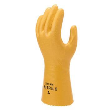 尚和倍斯特SHOWA BEST 丁腈防化手套,黄色,771-8