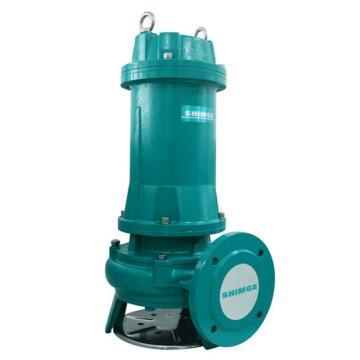 新界 65WQ4QG,切割型污水污物潜水电泵,带出水弯管,标配电缆8米