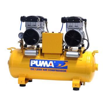 巨霸PUMA 无油静音直接式空压机,WE160A-2,单相(不带电线)