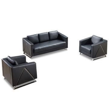 沙发款式三,1+1+3,DT-sf013 西皮 黑色