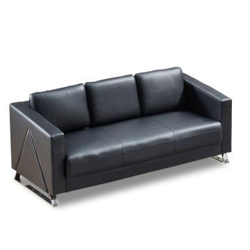 沙发款式三,三人位,DT-sf012 西皮 黑色