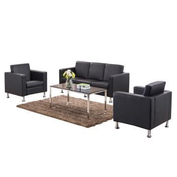 沙发款式四,1+1+3+长茶几,DT-sf019 西皮 黑色