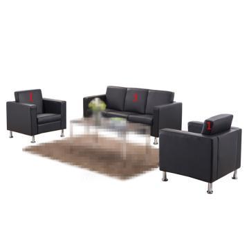 沙发款式四,1+1+3,DT-sf018 西皮 黑色