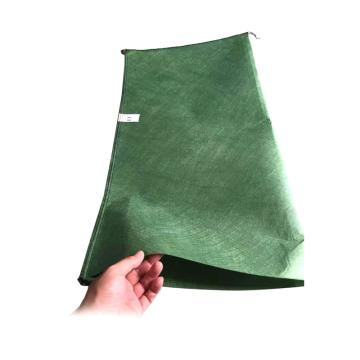 西域推荐 防汛防洪土工布袋/护坡生态袋,尺寸:40cm*80cm,绿色,100个/包,克重:150g