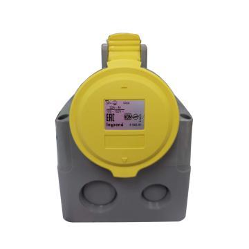罗格朗/legrand 工业连接器明装插座IP44 110V 32A 2P+E,555251