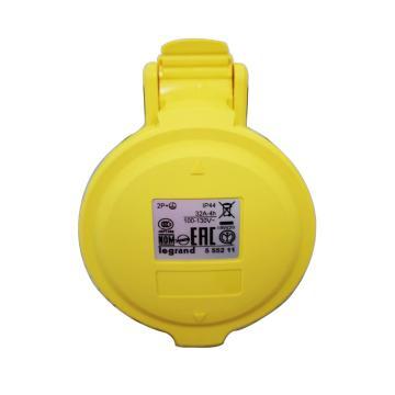 罗格朗/legrand 工业连接器移动式插座IP44 110V 32A 2P+E,555211