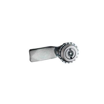 恒珠 转舌锁,机柜锁通开,一字芯,MS705-1-2,镀亮铬,带钥匙