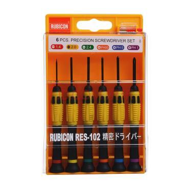 罗宾汉 精密螺丝起子套装,6支装,RES-102