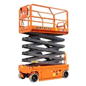 鼎力 自行走剪叉式高空作业平台,工作载荷(kg):320 工作高度(m):12 液压马达驱动,JCPT1212HA