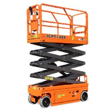 鼎力 自行走剪叉式高空作业平台,工作载荷(kg):230 工作高度(m):10 液压马达驱动,JCPT1008HA