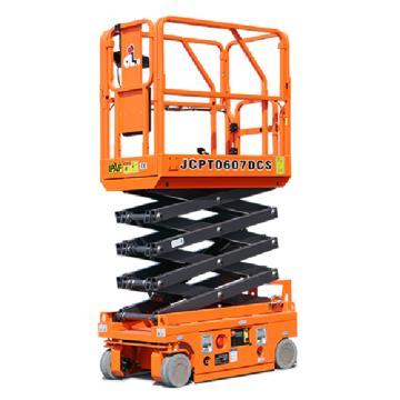 鼎力 自行走剪叉式高空作业平台,工作载荷(kg):240 工作高度(m):5.6 直流电机驱动,JCPT0607DCS