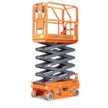 鼎力 自行走剪叉式高空作业平台,工作载荷(kg):230 工作高度(m):7.6 直流电机驱动,JCPT0708DCS