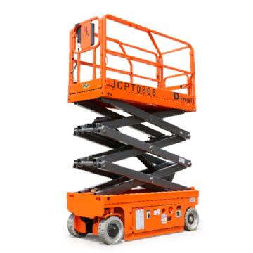 鼎力 自行走剪叉式高空作业平台,工作载荷(kg):380 工作高度(m):8 直流电机驱动,JCPT0808AC