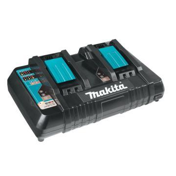 牧田 两口充电器,14V/18V通用,DC18RD,可同时充2块电池