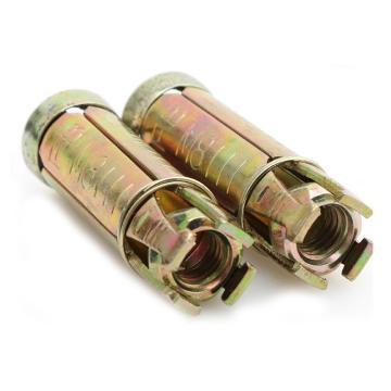 碳钢彩锌四片式膨胀螺栓,M8,20个/包