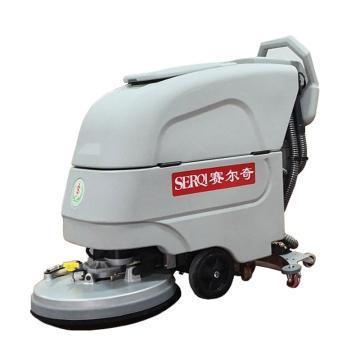 赛尔奇手推盘刷式全自动洗地机,Leader S50B