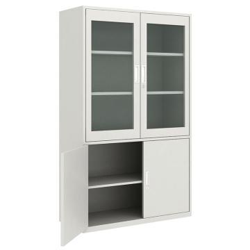 佰斯特 防静电工具柜,(上玻璃双开门 下钢制双开门柜)900*440*1800 钢板厚(mm):0.8,CH-20-08E
