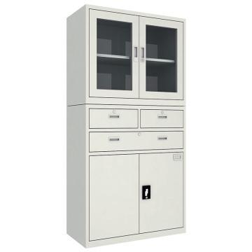 佰斯特 防静电工具柜,(上玻璃开门柜 下三抽双开门柜)900*440*1800 钢板厚(mm):1,CH-8-10E
