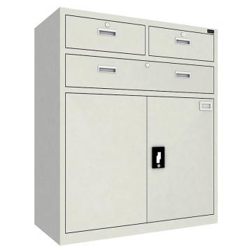 佰斯特 防静电工具柜,(三抽双开门柜)900*440*1064 钢板厚(mm):0.8,CH-3-08E