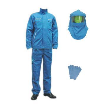 圣欧 防电弧套装,12.7cal-XXL,含夹克、裤子、头罩、手套