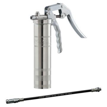 MATO 3036010 LubeShuttle手动手推式黄油枪,出口M10x1螺纹,带300mm软管