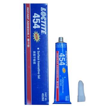 乐泰 瞬干胶,Loctite 454 表面不敏感型,膏状(烟台产),20g/支