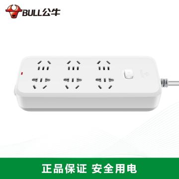 公牛BULL 接线板,GN-B5060 3m