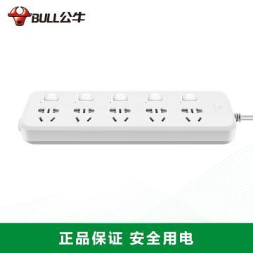 公牛BULL 接线板,GN-B5053 1.8m