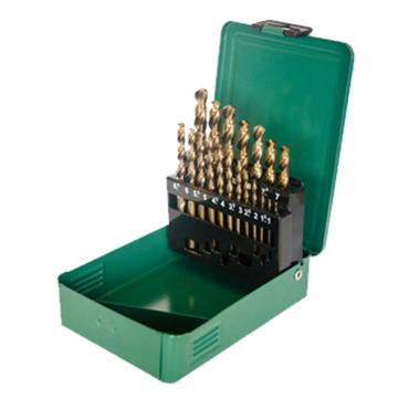 世达SATA 19件套直柄含钴麻花钻,52819