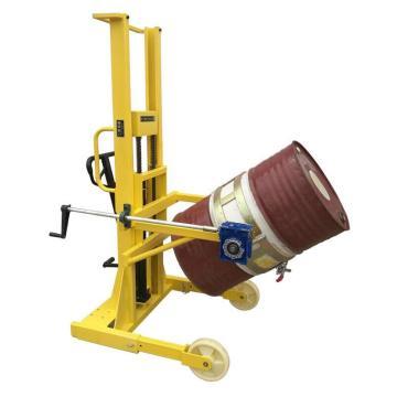 汉利 标准型圆筒旋转搬运车,额定载荷(kg):380/桶 长*宽*高(mm):1530*980*2020,TD-850