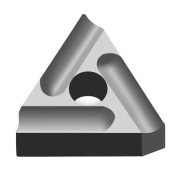 株洲钻石 机夹刀头,31303cz YW1(毛坯),单片(散装)