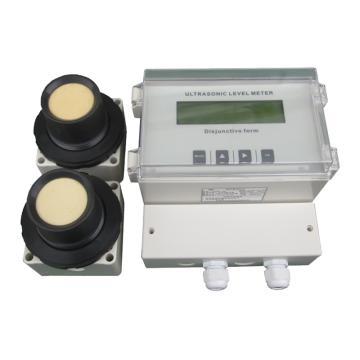 特力声 超声波液位差计,UTG21-EP-015(220V)-ZG 英文显示 15m AC220V 4-20mA+RS485 线长10m IP65