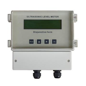 特力声 超声波液位计,UTG21-PS-015(220V)-ZG 英文显示 15m DC12-36V 4-20mA+RS485 线长10m IP65
