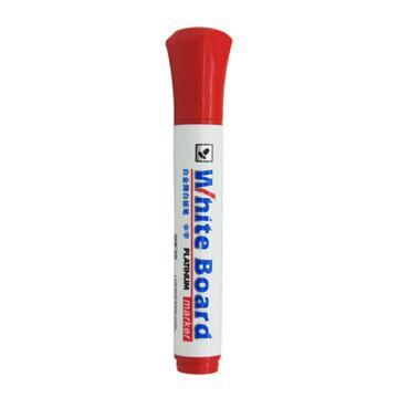 白金 白板笔,红色 WB-22,10支/盒 单位:盒(替代:ECU907)