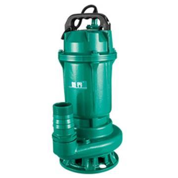 新界 WQD6-16-0.75L1 WQ系列潜水排污泵,标配电缆8米