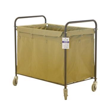 白云布草车,AF08156 酒店宾馆客房布 草车被褥被单收纳 清洁车收集车