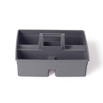 白云杂物篮,AF08405(大号)/灰色 清洁篮工具箱保洁用品