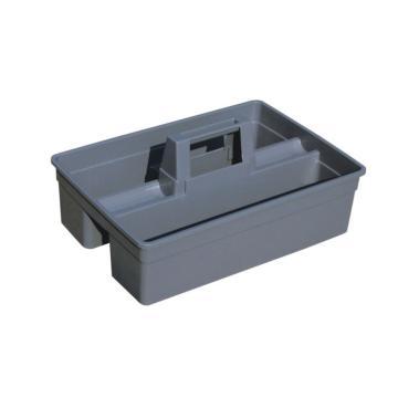 白云杂物篮,AF08404灰色清洁篮工具箱保洁用品 (小号)