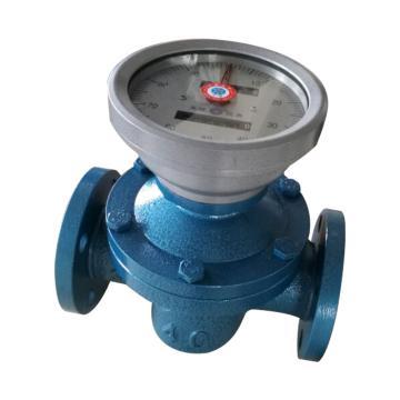天维 椭圆齿轮流量计,LC-E25.2,DN25,1.6MPa,铸钢材质