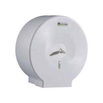 白云白色大卷纸盒,AF10522卷纸架 商用大卷纸箱卫生纸盒