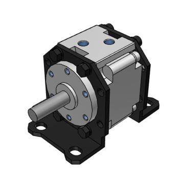 SMC 摆动气缸,叶片式,CRB1LW50-180S
