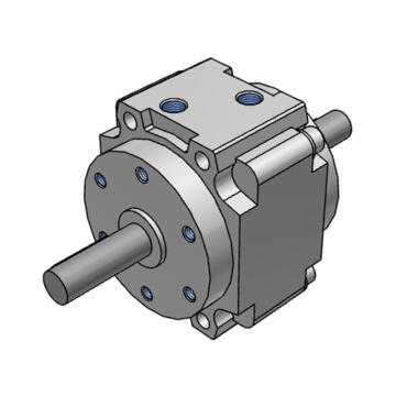SMC 摆动气缸,叶片式,CRB1BY80-180S