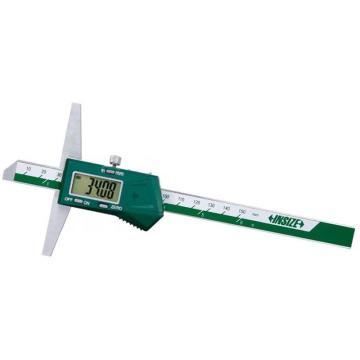 "INSIZE 数显深度尺(不防水),0-200mm/0-8"",1141-200A,不含第三方检测"