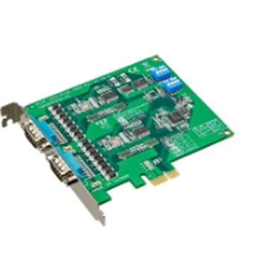 研华Advantech 2端口RS-232 PCI串口卡,带浪涌及隔离保护,PCI-1604C-AE