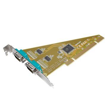 研华Advantech 2端口RS-232 PCI串口卡,PCI-1604L-AE