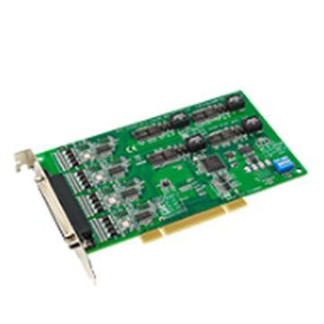 研华Advantech 4端口RS-232通用PCI串口卡,带浪涌保护,含一根DB9数据线,PCI-1610B-DE